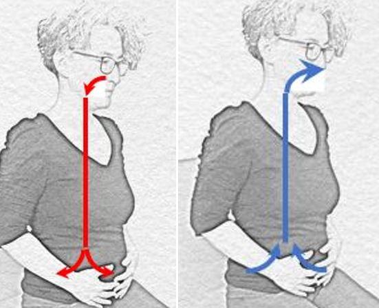 L'importance de la respiration pour se centrer et se connecter à son Hara