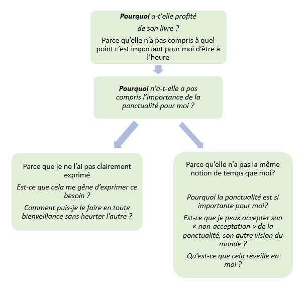 Les 5 Pourquoi et la Colère: possibilité 1